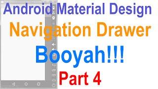 9: Android Navigation Drawer Tutorial Part 4 Slidenerd