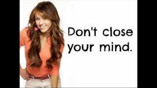 Miley Cyrus - I Got Nerve [LYRICS]