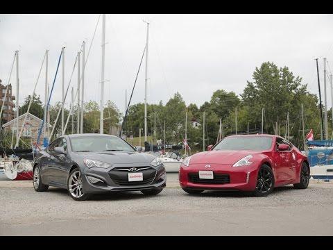 2015 Nissan 370Z vs. 2015 Hyundai Genesis Coupe