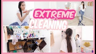 CLEAN WITH ME 2019 | ALL DAY EXTREME SPRING CLEANING MOTIVATION