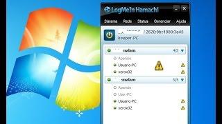 RESOLVIDO - Hamachi - configura - erro vpn - triangulo amarelo - tutorial