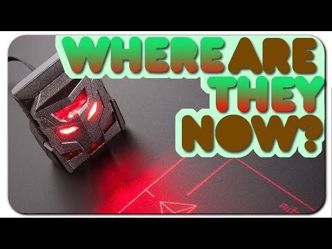 ODiN (Laser track-pad) - Where are they NOW?