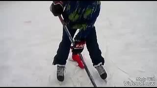 Новогоднее видео|Хоккейные челленджи|офигенные буллиты