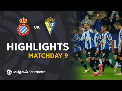 Espanyol Cadiz Goals And Highlights