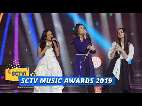 Aaliyah Massaid, Aurel Hermansyah, Stephanie Poetri - Pertama | SCTV Music Awards 2019