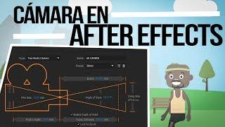Para qué son las cámaras en After Effects y cómo se usan.