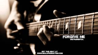 Motivational Guitar Hip Hop {Rap} Instrumental - Forgive Me
