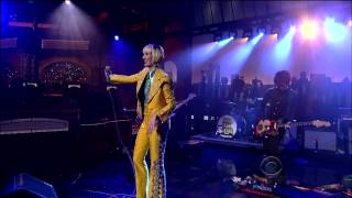 "yeah yeah yeahs ""Sacrilege"" on Letterman 4/5/13"