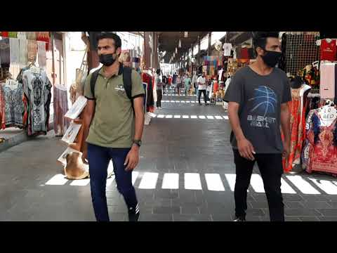 SPICE SOUK BUR DUBAI / DUBAI TOURIST ATTRACTIONS/ WALKING TOUR OLD DUBAI