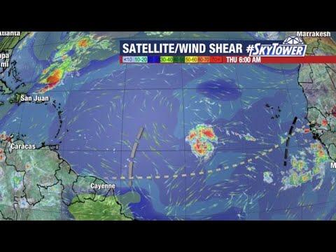 Tropical Storm Sam forecast: Sept. 23, 2021