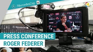 Press Conference Roger Federer | MercedesCup | myTennis