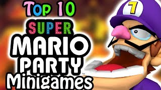 Top 10 Super Mario Party Minigames