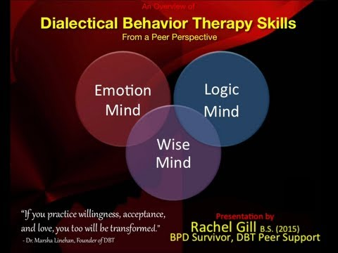 DBT Peer Connections - Episode 0 - Introduction to DBT Skills Training - by Rachel Gill