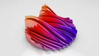 Cinema 4D Tutorial  - How to make a cool wave Effect Using the Displacer Deformer