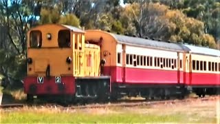 V class Diesel Hydraulic Locomotive Don River Railway Devonport Tasmania