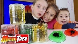 Barril de Mocos y Bichos. BUGS SLIME en tú canal infantil MikelTube