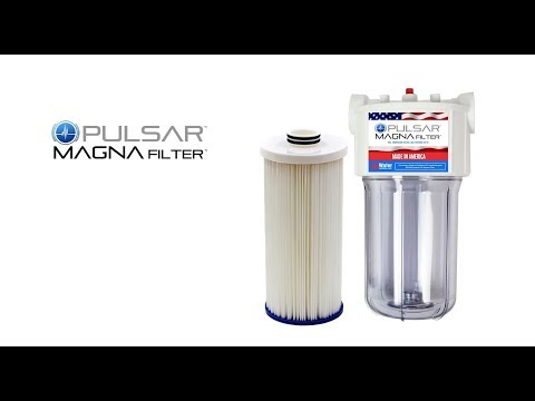 The Magna Filter. One Great Water Filter.