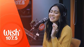 "Mica Javier performs ""Honest"" LIVE on Wish 107.5 Bus"