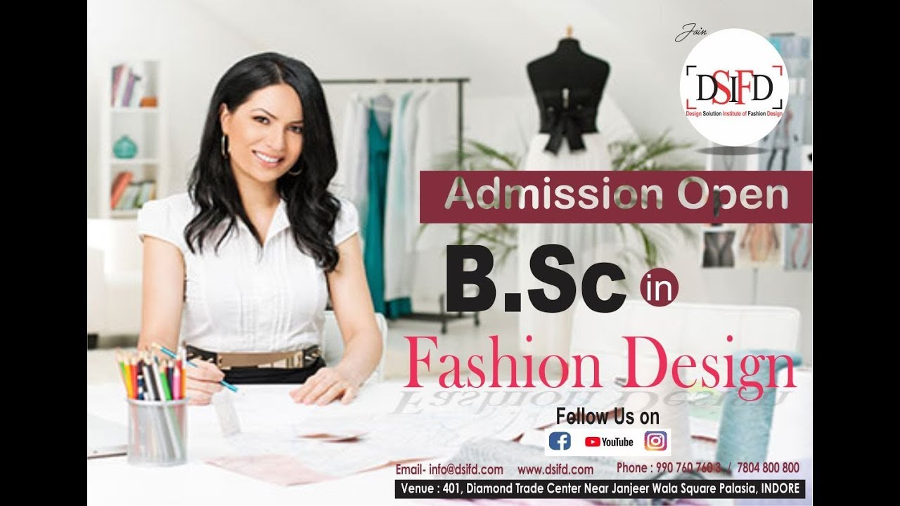Fashion Designer Course In Indore Fashion Designing Courses Indore Dsifd Indore Youtube