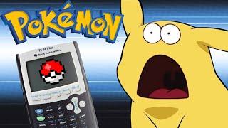 Simple Pokémon on a TI-84 Calculator