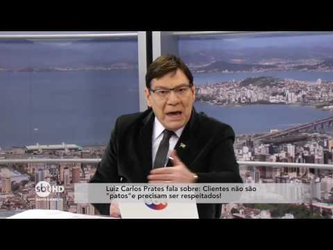 "Luiz Carlos Prates comenta sobre a ""Lei da Gorjeta"""