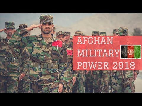 Afghan Military Power 2018