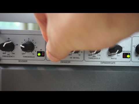 DBX 286s Mic Preamp and Processor Walkthrough
