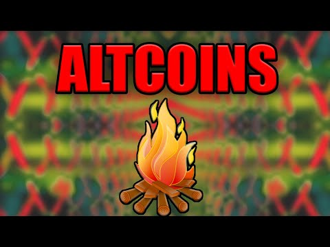 WHY ALTCOINS ARE -literally- ON FIRE RIGHT NOW
