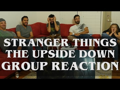 Stranger Things - 1x8 The Upside Down - Group Reaction