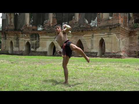 การฝึกทักษะมวยไทยโบราณพื้นฐาน / Basic Skill MuayThai Boran / KruTom MuayThai / ครูต้อมมวยไทย