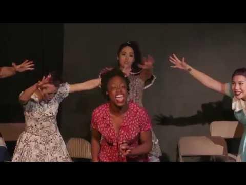 """Run Freedom Run"" in a performance of ""Women Rule Broadway"""