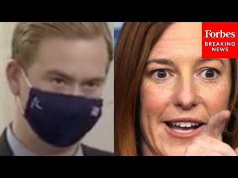 """Jen Psaki Pressed By Fox News Reporter On Halted Pipeline & """"US Climate Leadership"""""""