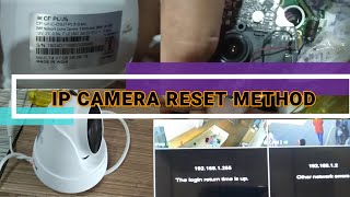 How to reset IP Camera Cpplus …