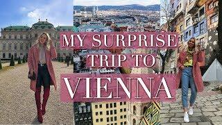 MY VIENNA TRAVEL VLOG - SURPRISE TRIP! | March 2018
