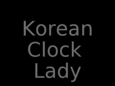 Korean Clock Lady