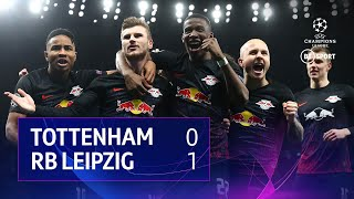 Tottenham vs RB Leipzig (0-1) | UEFA Champions League highlights