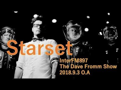 HYDE LIVE2018 で来日中Starset初登場!  InterFM897【DFS GUESTS】
