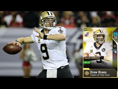 TOTY DREW BREES SLINGING LIKE TONY MONTANA - MADDEN 19 ULTIMATE TEAM