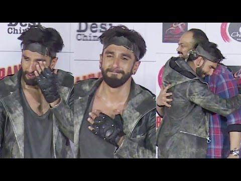 Ranveer Singh CRIES At Ranveer Ching Returns Launch Event