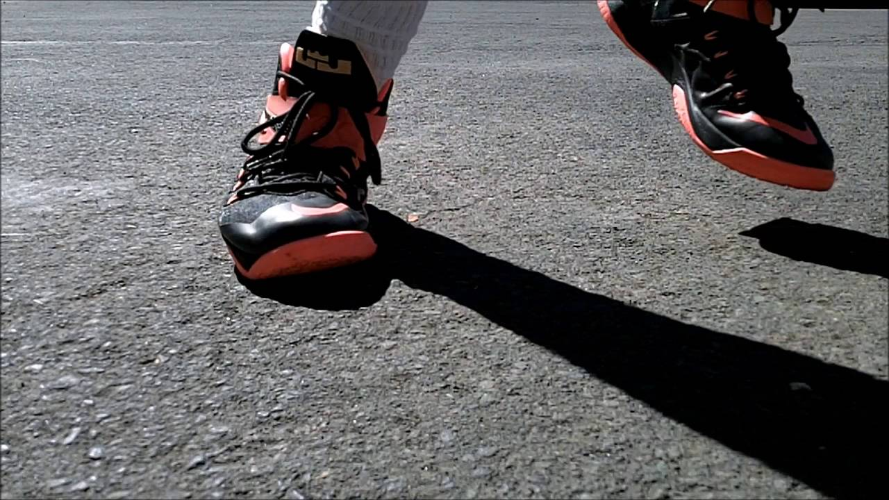 2fa462d7b036 NIKE LEBRON ZOOM SOLDIER 8 - PERFORMANCE TEST - YouTube