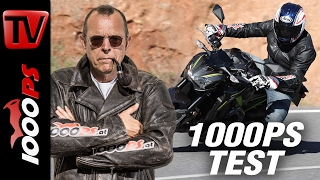 1000PS Test - Kawasaki Z900 2017   Wow!   Hammer-Naked ohne Elektronik