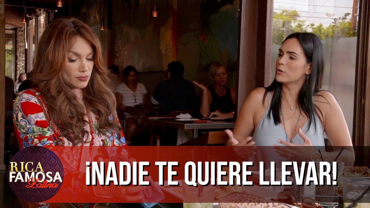 NADIE TE QUIERE LLEVAR AL RETIRO | Rica Famosa Latina | Escenas Memorables