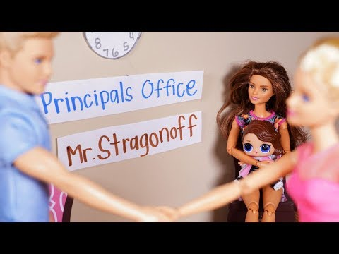 LOL SURPRISE DOLLS Posh Bullies CUTIE At School And Gets Sent To Principals Office!