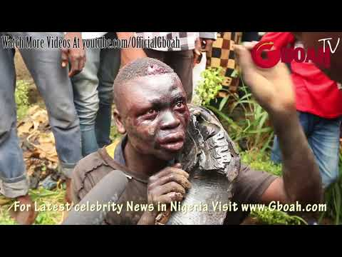 Thumbnail: Another Kidnapper-Ritualist Escape Death By Burning After He Was Caught Trying 2Kidnap Little Kids,2