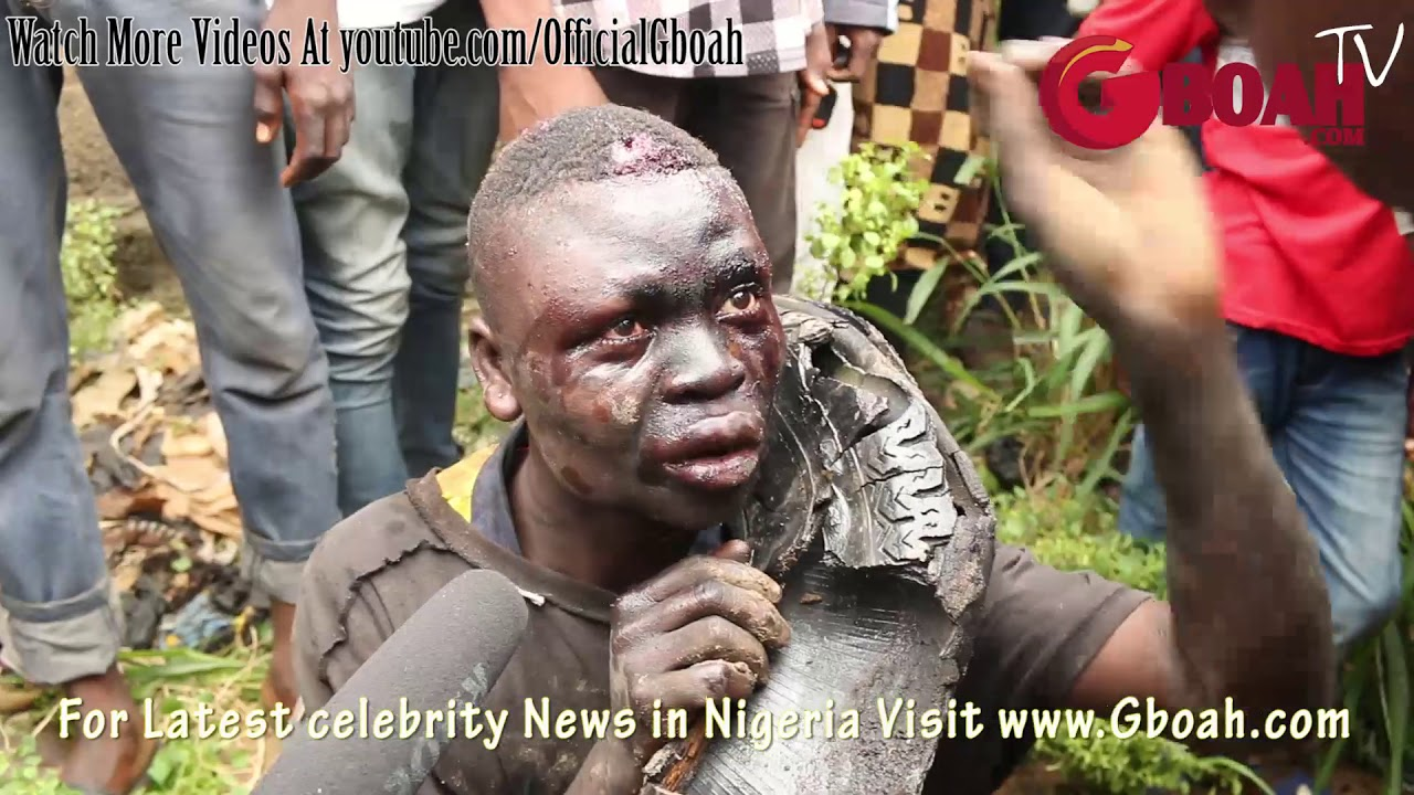 Download Another Kidnapper-Ritualist Escape Death By Burning After He Was Caught Trying 2Kidnap Little Kids,2