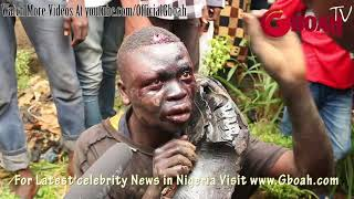Another Kidnapper-Ritualist Escape Death By Burning After He Was Caught Trying 2Kidnap Lit ...