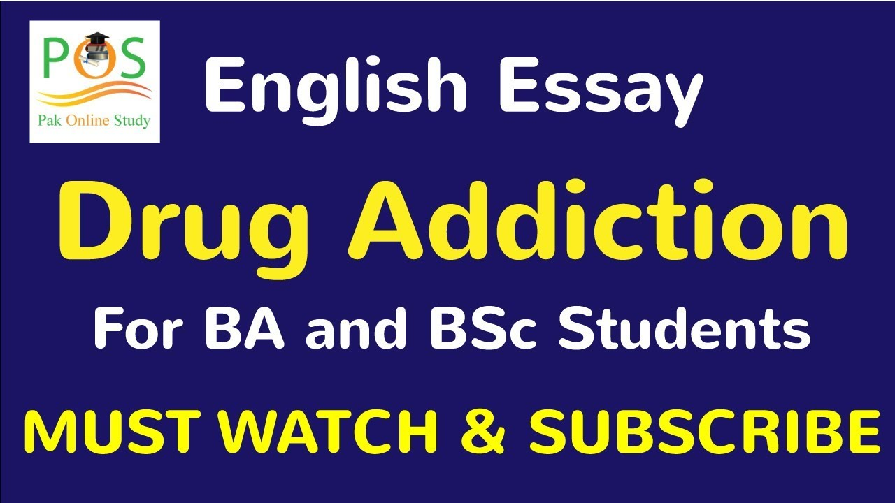 narcotic addiction essay Psyc1022 essay is drug addiction disease in our contemporary society we have  come to accept that drug addiction, or addiction in general is disease, and has.