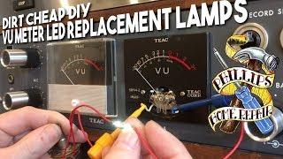 DIY VU Meter LED Replacement Lamps For Pennies