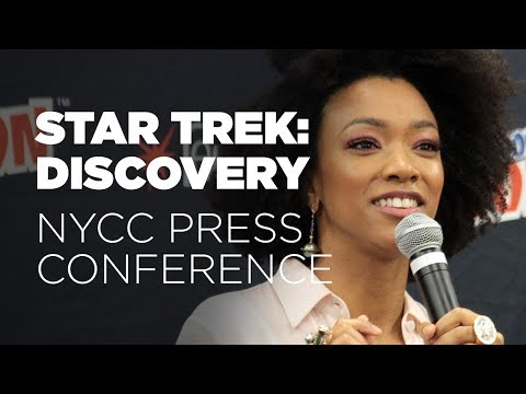 Full STAR TREK: DISCOVERY NYCC Press Conference