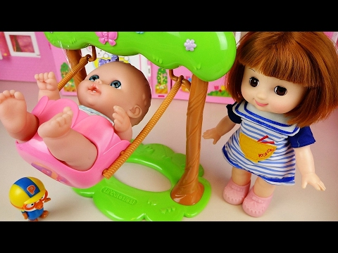 Baby Doll Swing toy with Pororo